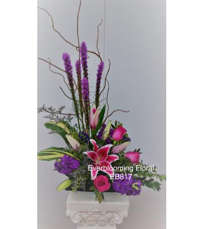 Artfully Expressive Floral Arrangement