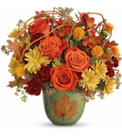 Teleflora's Turning Leaves Bouquet