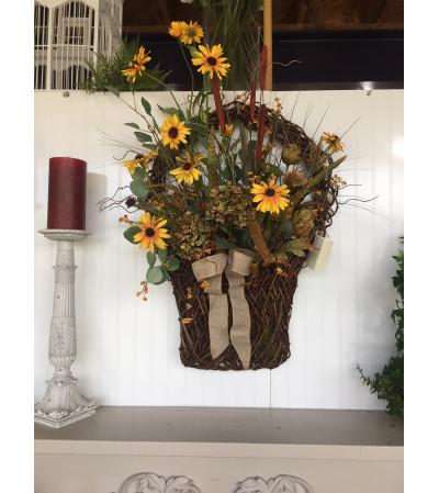 Vine Wall Basket