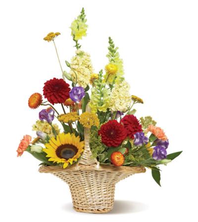grandma's garden basket
