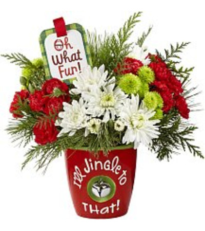 I'll Jingle to That Bouquet by Hallmark