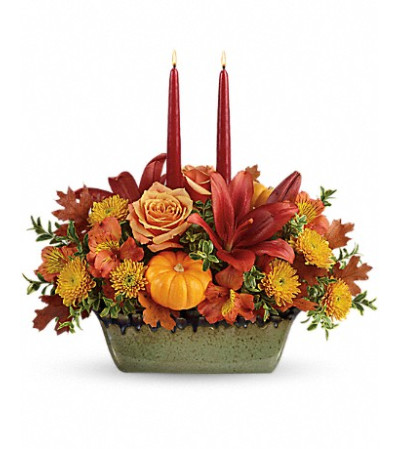Country Oven Centerpiece by Teleflora