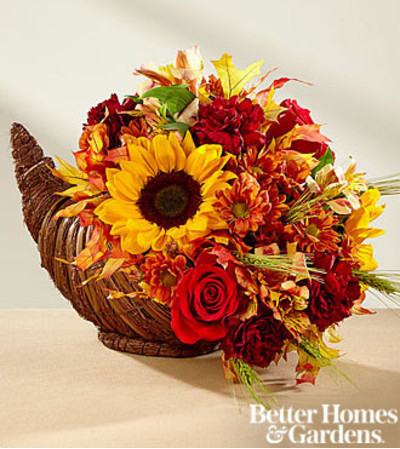 Fall Harvest Cornucopia by FTD