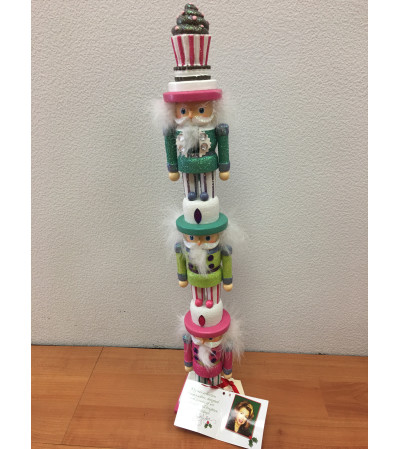 Cupcake Stacker Nutcracker