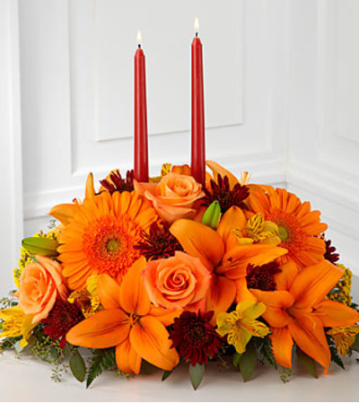 FTD Bright Autumn Centerpiece