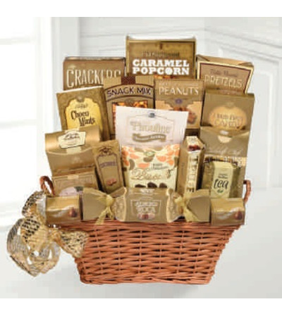Treasure of Gold Gourmet Basket
