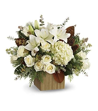 Snowy Woods Bouquet