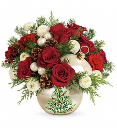 Teleflora Twinkling Ornament