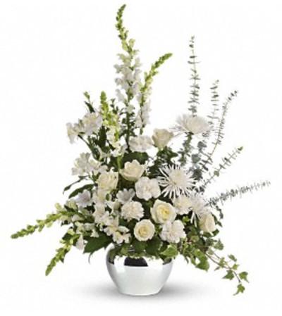Serene Reflections Bouquet - by Jennifer's Flowers