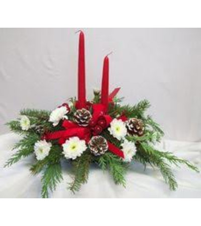 Double Taper Candle Centerpiece