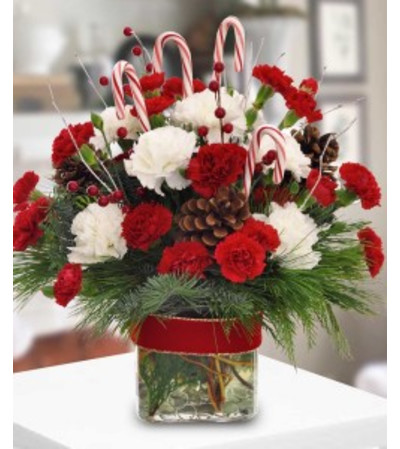 Festive Christmas Bouquet