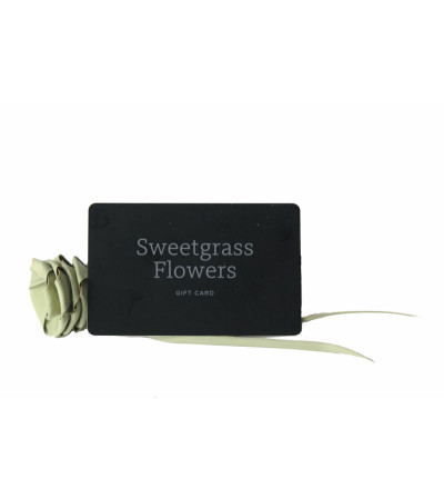 Sweetgrass Flowers Gift Card