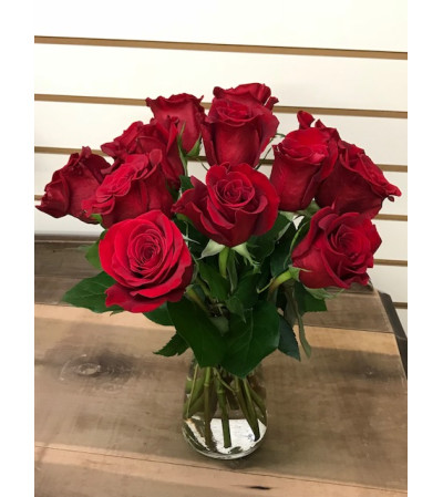 Short and Sweet Red Roses