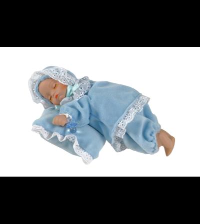 Musical Sleeping baby boy Keepsake I