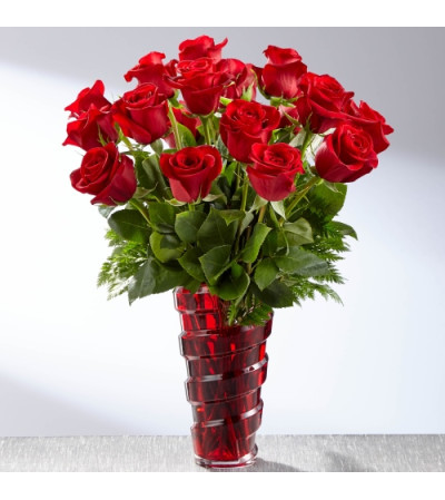 In Love with Red Roses