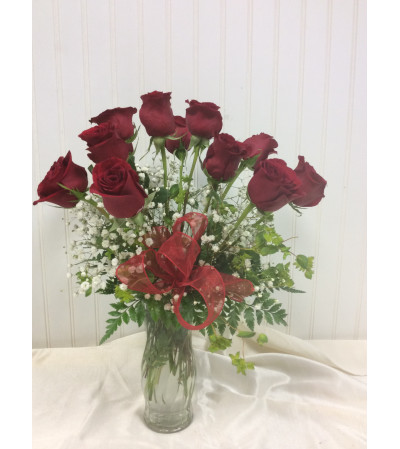 Standard Dozen Red Roses