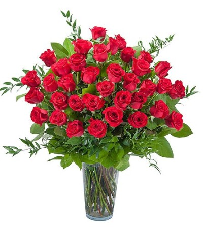 Room Full of Roses - 36 Roses Arranged