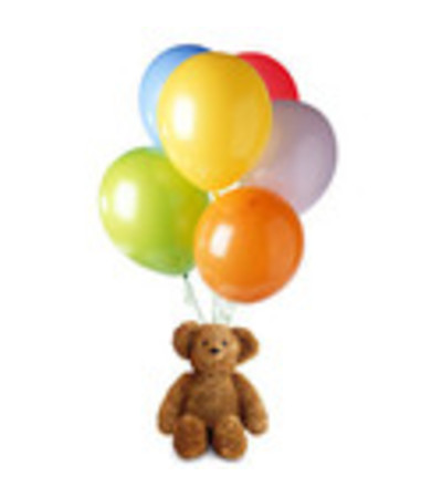 Bears and Balloons Bouquet