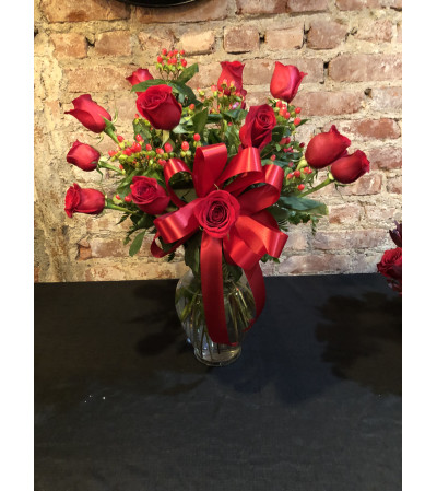 ROSES WITH BERRIES