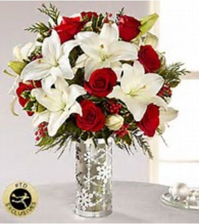 FTD Silver Snowflake Bouquet
