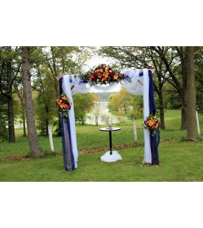 Fall custom Arbor Flowers
