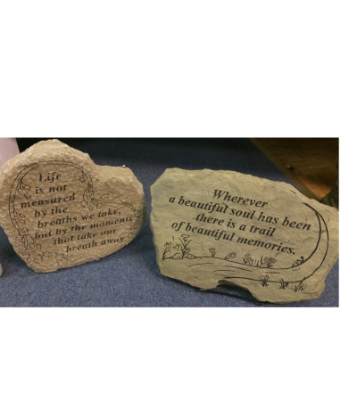 Cemetery Memorial Stones
