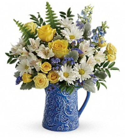 Telefloras Bright Skies Bouquet