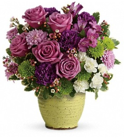 The Spring Speckle Bouquet by Teleflora