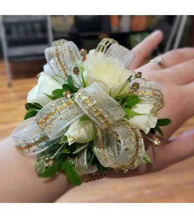 Golden Wish Corsage