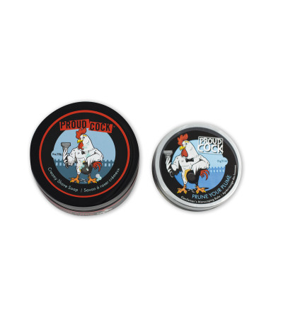 Proud Cock – Shave Soap & Balm Duo