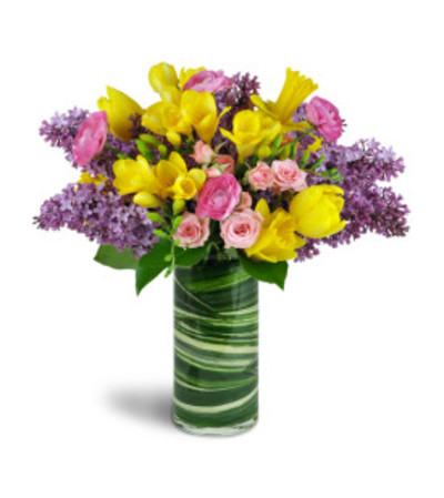 Spring Smiles Arrangement