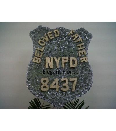 Custom New York City Police Badge