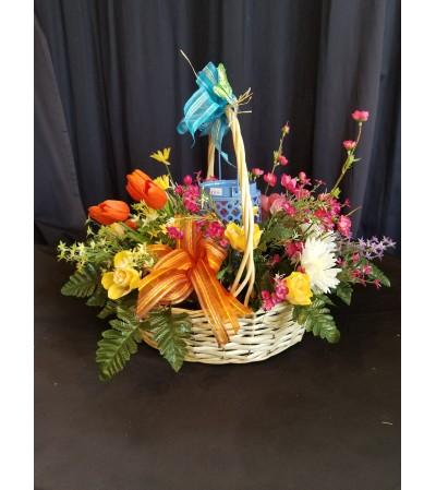 Garden Basket Summer Lantern