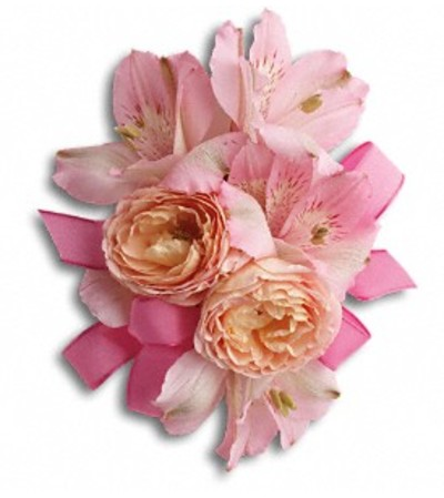 Beloved Blooms Pink Corsage