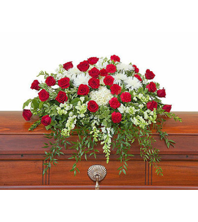 Teleflora - Enduring Strength Casket Spray
