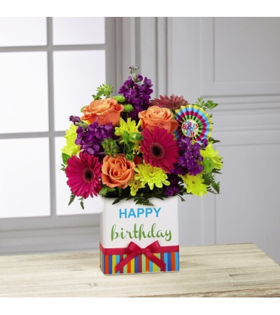 The Birthday Brights™ Bouquet by FTD®
