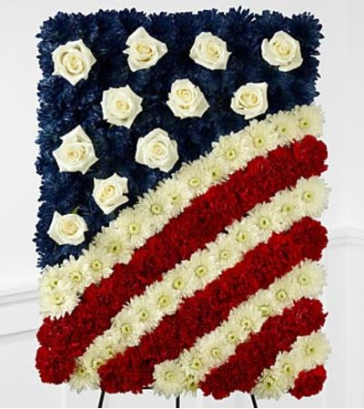 American Flag Farewell Tribute