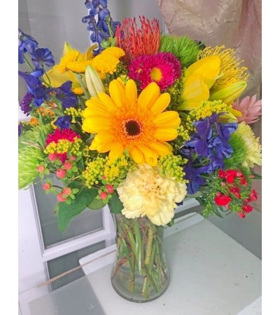 Vivid Beauty Bouquet