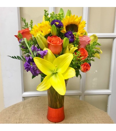 The Bright Beauty Bouquet