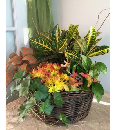 The Exquisite Blooming Garden Basket