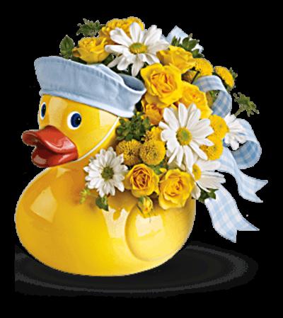 Ducky Delight Bouquet - Boy