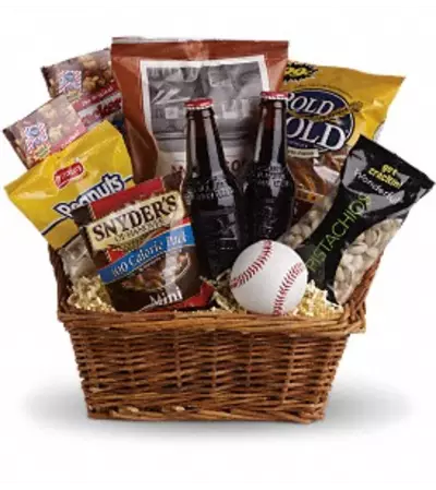 Teleflora's Take Me Out to the Ballgame Basket