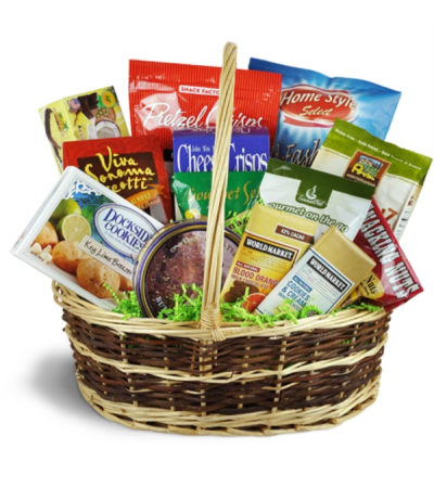 Deluxe Sweet & Savory Snacks Basket™ by Lovingly