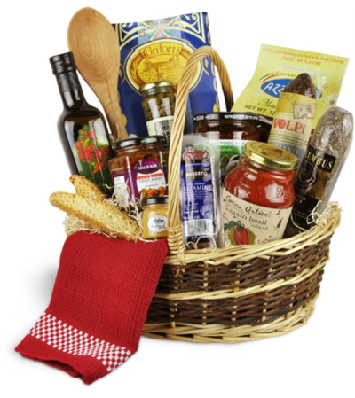 Bon Appetit! Deluxe Basket™ by Lovingly
