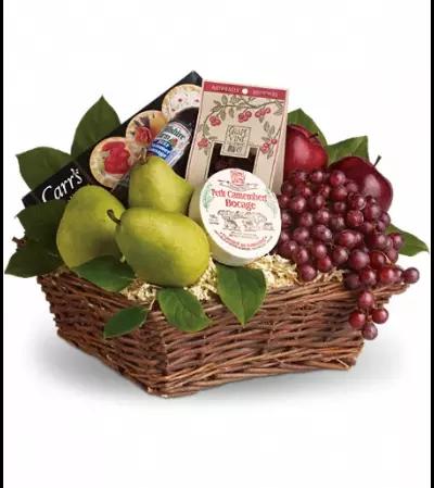 Delicious Delights Basket - Teleflora
