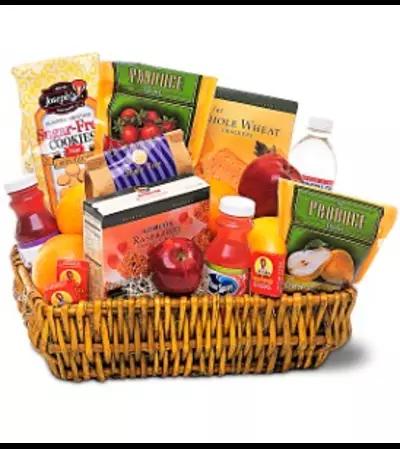 Healthy Gourmet Basket - Teleflora