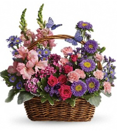 Blooming Country Basket