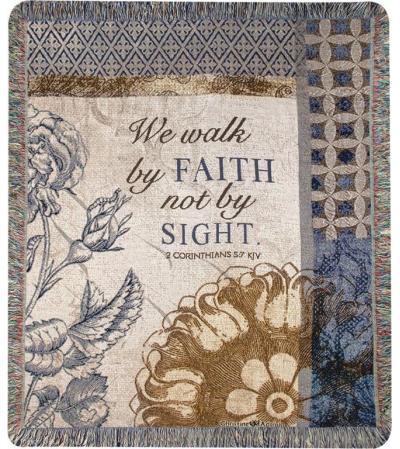 Walk by Faith Afghan