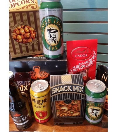LOCAL BEER & SNACKS