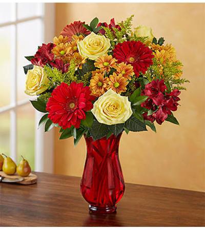 Autumn Joy Bouquet by 1800 Flowers